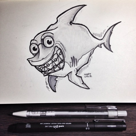 Shark with Braces: Day 5