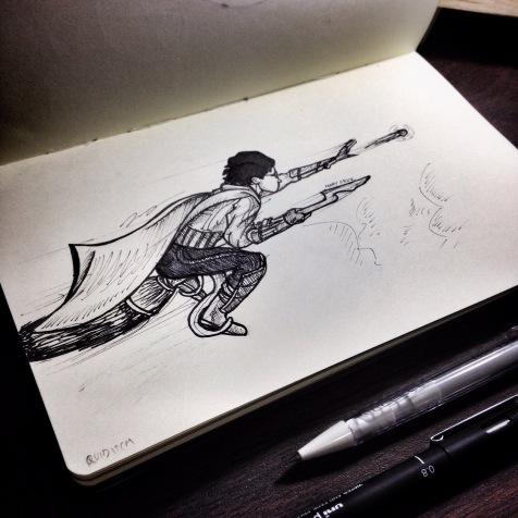 Quidditch: Day 20